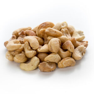 Dry Roasted & Salted Cashews (No Oil)