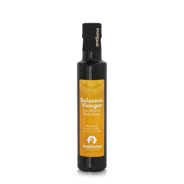 Mellona Balsamic Vinegar From Wine & Raw Honey 250ml