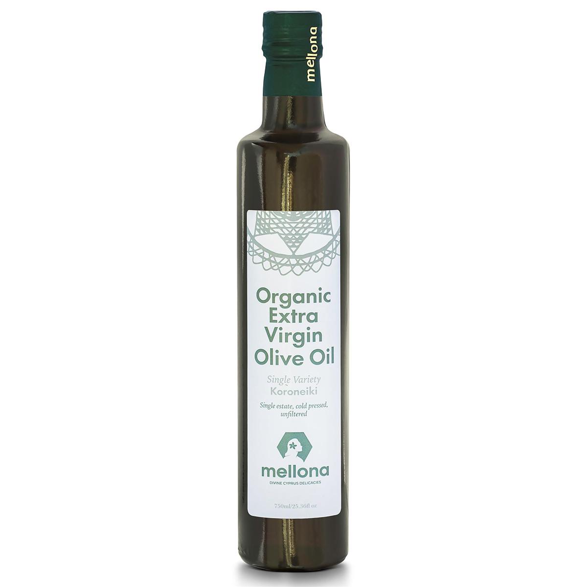 "Mellona Organic Extra Virgin Olive Oil ""Koroneiki"""