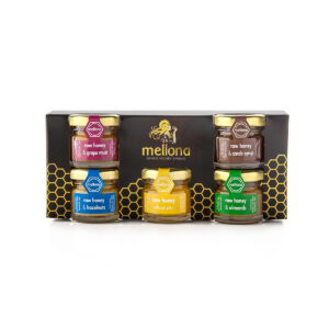 Mellona Raw Honey Gift Set (5 x 28g)