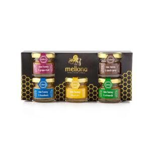 Mellona Raw Honey Gift Set (5 x 28g)