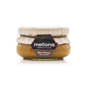 Mellona Raw Honey with Coffee 250g