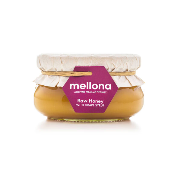 Mellona Raw Honey with Grape Syrup 250g