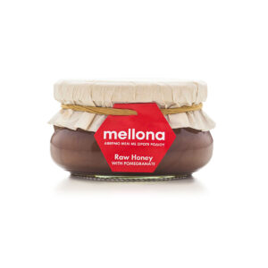 Mellona Raw Honey with Pomegranate 250g
