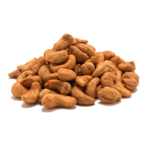 Spicy Roasted Cashews (Hot)