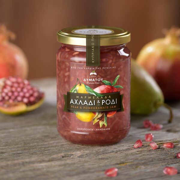 Dymatou Estate Handmade Pear & Pomegranate Jam