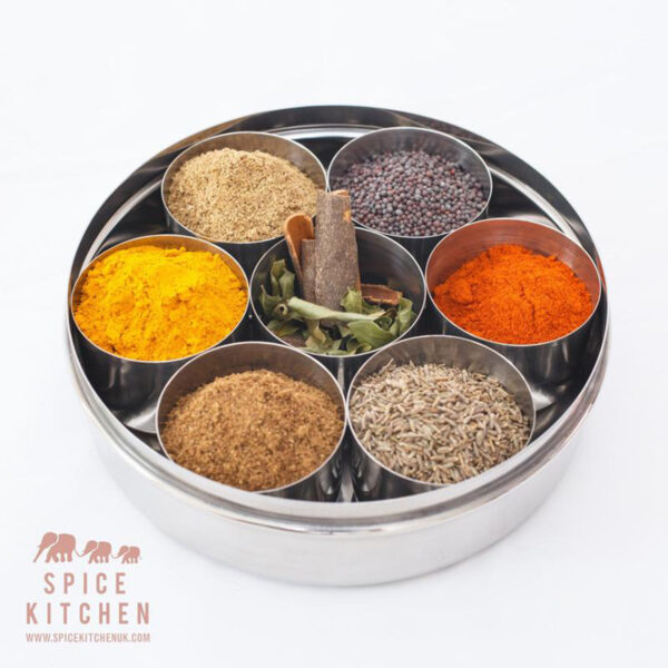 Spice Kitchen Indian Spice Tin Collection