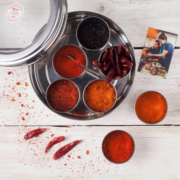 Spice Kitchen World Chilli Tin Collection