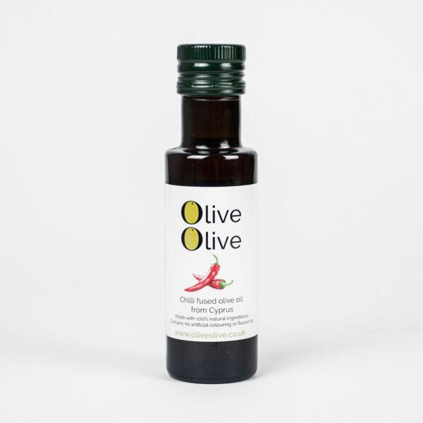 Olive Olive 3 x Fused Extra Virgin Olive Oil Gift Pack (Basil, Garlic & Chilli)
