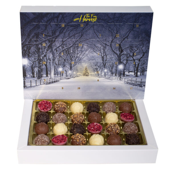 The Fine Harvest Swiss Chocolate Advent Calendar