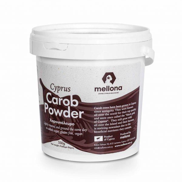 Mellona 100% Wild Carob Powder Side 2