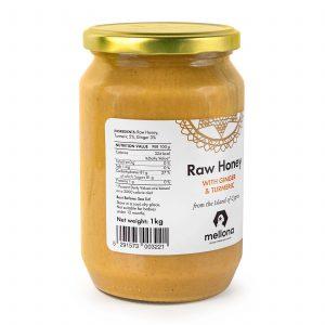 Mellona Raw Honey With Turmeric & Ginger