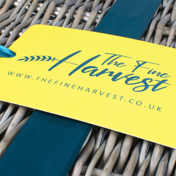 The Fine Harvest Hamper Tag