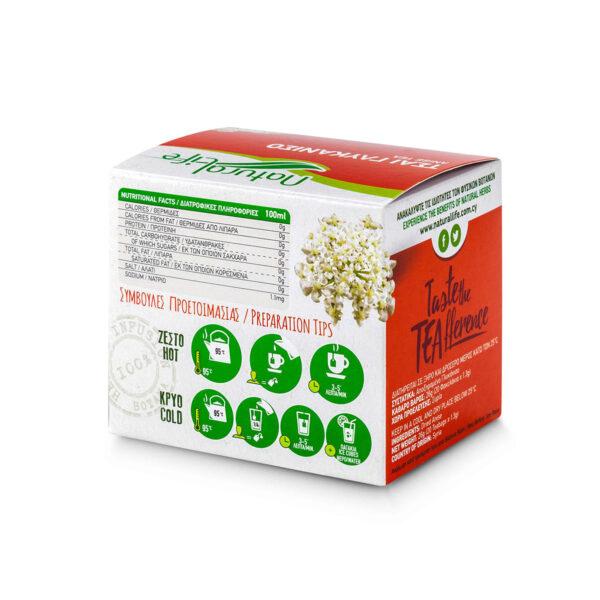 Natural Life Anise Herbal Tea Infusion x 20 Tea Bags Back
