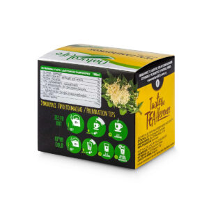 Natural Life Elderflower Herbal Tea Infusion x 20 Tea Bags Back