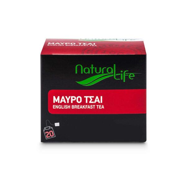 Natural Life English Breakfast Black Tea x 20 Tea Bags Front