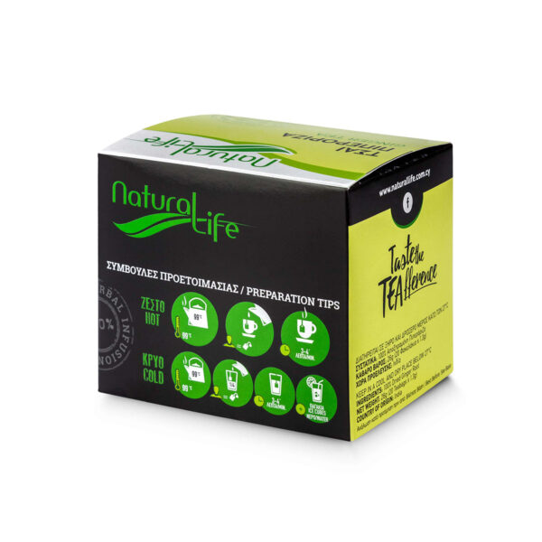 Natural Life Ginger Herbal Tea Infusion x 20 Tea Bags Back
