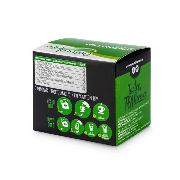 Natural Life Green Tea x 20 Tea Bags Back