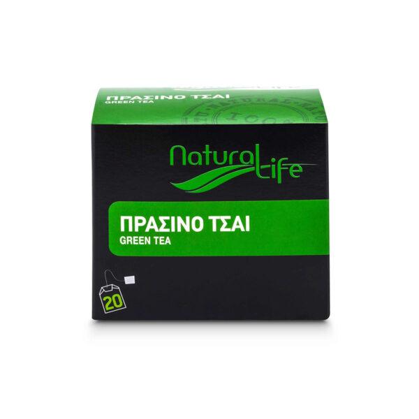 Natural Life Green Tea x 20 Tea Bags Front