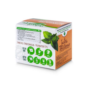 Natural Life Lemon Balm Herbal Infusion x 20 Tea Bags Back