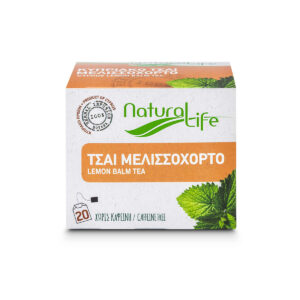 Natural Life Lemon Balm Herbal Infusion x 20 Tea Bags Front