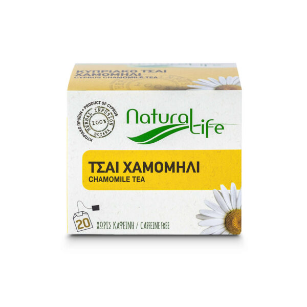 Natural Life Chamomile Herbal Infusion Tea Front