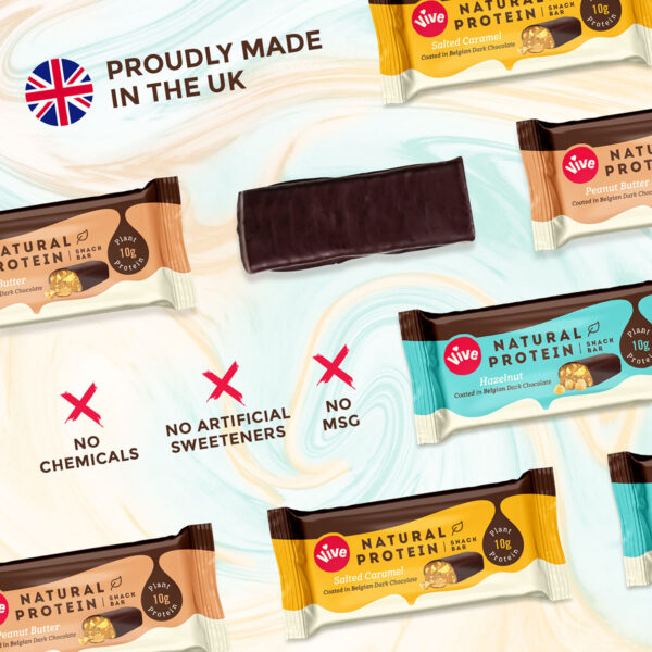 Vive Protein Bar 3 Bar Infographic 3
