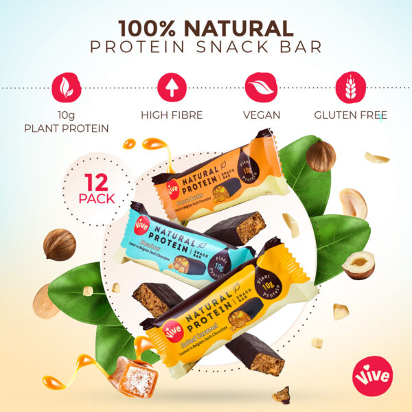 Vive Protein Bar 3 Bar Infographic 5