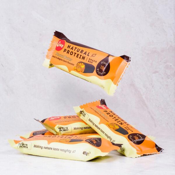 Vive Dark Chocolate Protein Bar Peanut Butter 3