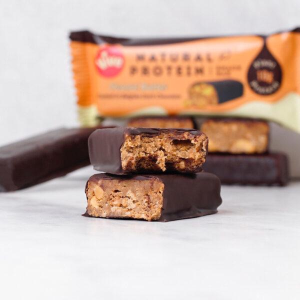 Vive Dark Chocolate Protein Bar Peanut Butter 4