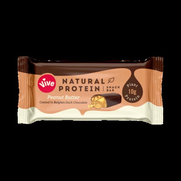 Vive Dark Chocolate Protein Bar Peanut Butter