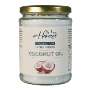 The Fine Harvest Organic Extra Virgin Coconut Oil Front