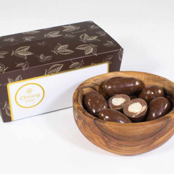 Chrissy & Co. Belgian Chocolate Brazil Nuts Ballotin Gift Box Set
