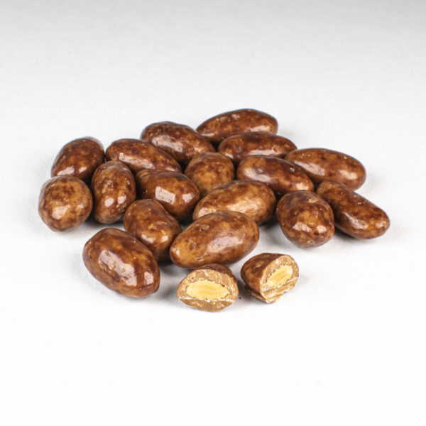 Salted Caramel Coated Almonds