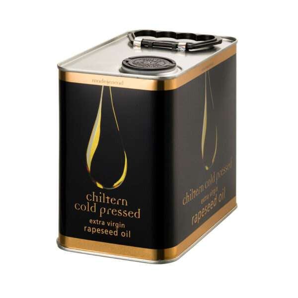 Chiltern Cold Pressed Rapeseed Oil 2.5L Tin