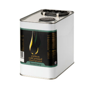Chiltern Cold Pressed Rapeseed Oil Rosemary Infused 2.5L Tin - Copy